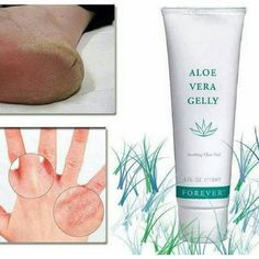 Aloe Vera Gelly - the next best thing to cutting the leaf of an Aloe Vera plant open & squeezing out the gel. Forever Aloe, Forever Living Aloe Vera, Aloe Vera Skin Care, Aloe Vera Gel, Everything Burns, Forever Living Business, Adult Acne Treatments, Eye Sight Improvement, Forever Living Products