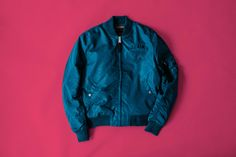 Deus Ex Machina re-unites with Alpha Industries to bring you three more unique pieces paying homage to the MA-1 flight jacket of U.S. Air Force.
