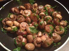 Low carb Rezepte: Knoblauch-Champignons