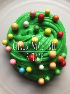 Oh Christmas Tree Slime