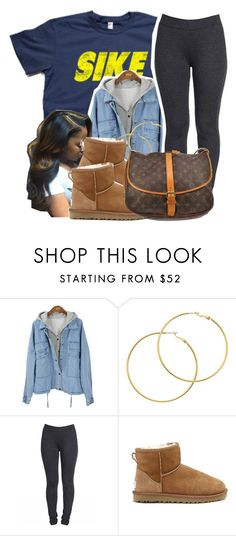 """2/17/16"" by xtaymaxlovesxmisfitx ❤ liked on Polyvore featuring Melissa Odabash, UGG Australia, Louis Vuitton, women's clothing, women, female, woman, misses and juniors"