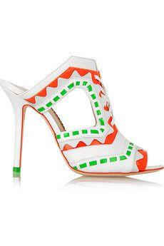 55720f28c7f Sophia Webster - Riko cutout leather mules. Heeled MulesMules ShoesShoes  SandalsShoe ...