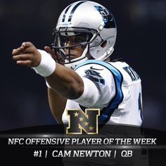 NFC Offensive Player of the Week for the 3rd time this season!