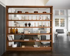 Bookshelf As Room Divider Design, Pictures, Remodel, Decor and Ideas