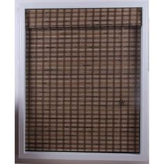@Overstock - Give your room an elegant look with these Roman style woven bamboo shades  Blinds gently filter light to give your home decor a warm and casual feel  Window treatments are made from naturally grown bamboohttp://www.overstock.com/Home-Garden/Guinea-Deep-Bamboo-Roman-Shade-26-in.-x-54-in./3171254/product.html?CID=214117 $33.99