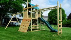 28 Simple DIY Swing Set Plans To Build One for Your Kids Kids Outdoor Play, Outdoor Play Areas, Backyard For Kids, Small Swing Sets, Backyard Playset, Outdoor Playset, Swing Set Plans, Diy Swing, Wooden Playset