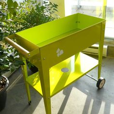 Herstera Urban Garden Metal Trolley - Available in 4 Colors