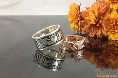 Rose Gold Claddagh and Silver Claddagh