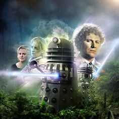 Brilliant alternate cover for Brotherhood of the Daleks by Jeremy Bonwick Colin Baker, Doctor Who Wallpaper, Big Finish, Second Doctor, Audio Drama, Bbc Doctor Who, Dalek, Time Lords, Dr Who