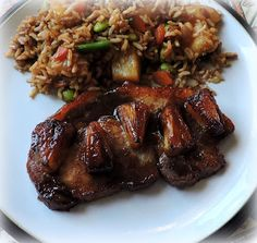The English Kitchen: Teriyaki Pork Steaks