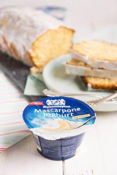 Perfekt zum Backen - Mascarpone Joghurt auf Zitrone von Weihenstephan
