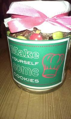 make yourself some cookies!