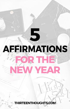 New Year Affirmations #2018 #NewYear #SelfGrowth #inspiration #affirmations #goodvibes #positivity via @Paula13t