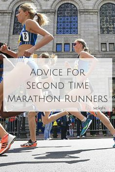 Make your second marathon better than your first with this expert running advice and join running coaches corner link up! Marathon Gear, First Marathon, Marathon Runners, Half Marathon Training, Running Tips Beginner, Running Guide, Running Workouts, Long Distance Running Tips, Race Training