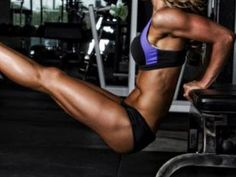 MICHELLE LEWIN Workout: Back and Biceps - YouTube