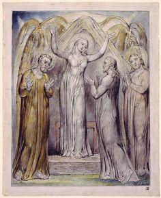 Illustration to Milton`s L`Allegro and Il Penseroso
