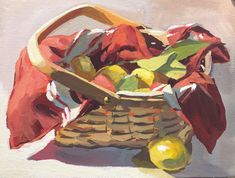 Original still life paintings of food from Heather Ihn Martin Food Painting, Gouache Painting, Still Life, Watercolor, Fine Art, Artist, Artwork, Fictional Characters, Paintings