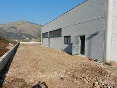 December 2013. The external wall is taking shape!