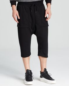 Black Apple by the Designers of Public School Active Shorts - Bloomingdale's Exclusive