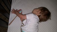 Lucas even sleeps with his trusty spatula close at hand.