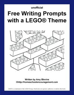 Free Writing Prompts with a LEGO® Theme (Printables) #Homeschool Encouragement