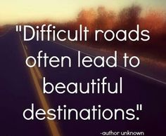 """Difficult roads often lead to beautiful destinations."" 66 quotes for travel inspiration!"