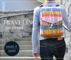 Stylish Drawcord Backpack   Sew4Home