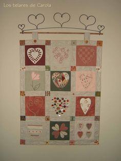 Los Telares de Carola...este quilt es precioso....gracias Carol