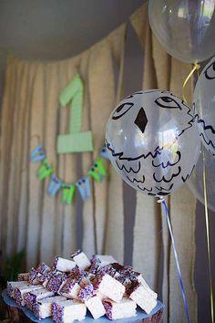 Balões pintados à mão