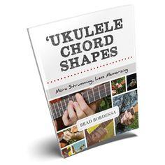 Ukulele Chord Shapes Book