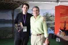 Con Sr. Jorge Vidal Ahumada (Director Gral. Tv Azteca Sonora)