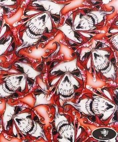New arrival scary skull pattern hydro water transfer printing hydrographics film,50cm wide,hydro dipping HYA-760