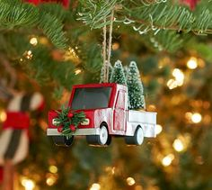 Red Truck Ornament | Pottery Barn