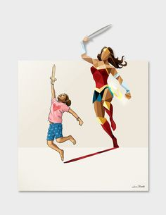 American artist Jason Ratliff (previously featured here) explores children