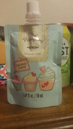 New, The Pampery Shower Gel. Pending