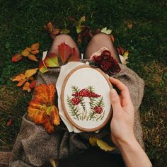 Maybe some fabric crafts for fall