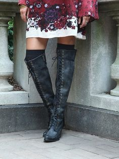 Free People James Lace Up Boot,   $398.00         The rubber soles caught my attention.....
