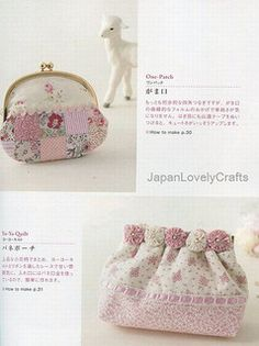 SIMPLE PATCHWORK FOR BEGINNERS BY KUNIE YAMAZAKI - JAPANESE HANDMADE QUILTING PATTERN BOOK FOR ZAKKA GOODS - YO-YO QUILT, APPLIQUE - LOVELY AND KAWAII 2 | por JapanLovelyCrafts