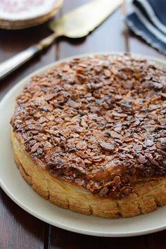 Chic, chic, chocolat...: Galette craquante aux amandes caramélisées