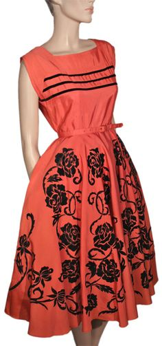 1950s Party Dress - Ballyhoo Vintage Clothing...this needs to be in my closet