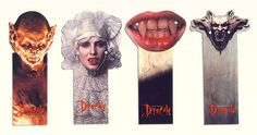 Bram Stoker's Dracula - advertising bookmarks by Mirage Bookmark, via Flickr