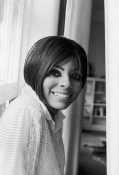 American singer and actress Leslie Uggams smiles in a portrait 1967