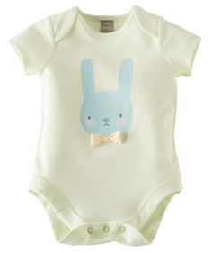 Supremely soft little baby body suit - perfect for sweet summer snuggles - from Hallmark Baby.com
