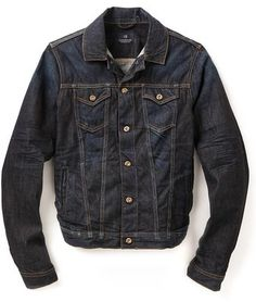$199, Revolution Denim Jacket by Scotch & Soda. Sold by East Dane. Click for more info: http://lookastic.com/men/shop_items/151042/redirect