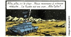 Le char lunaire Tintin Classic Sci Fi, Miniature, Movie Posters, Image, Art, Walking, Livres, Objects, Drawing Drawing