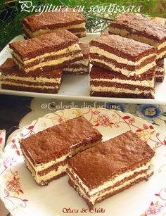 Just-t va premiaza pentru prajituri cu foi : Diva in bucatarie Romanian Desserts, Romanian Food, Romanian Recipes, Dessert Cake Recipes, Pastry Cake, Ice Cream Recipes, Cakes And More, Chocolate Recipes, Chocolate Cakes