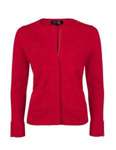 Milano zip pocket jacket by Laark (Was £240.00 now £159.00)