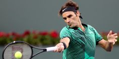 Roger Federer coup droit Indian Wells