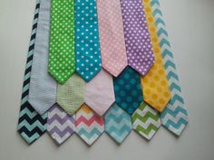 Spring Easter pastel chevron polkadots ties toddler boy baby infant outfit clothing dots blue seersucker purple on Etsy, $14.00