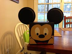 Mickey Mouse Valentines Day box